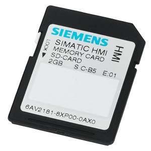 Tarjeta de memoria SIMATIC-6AV2181-8XP00-0AX0-SIEMENS