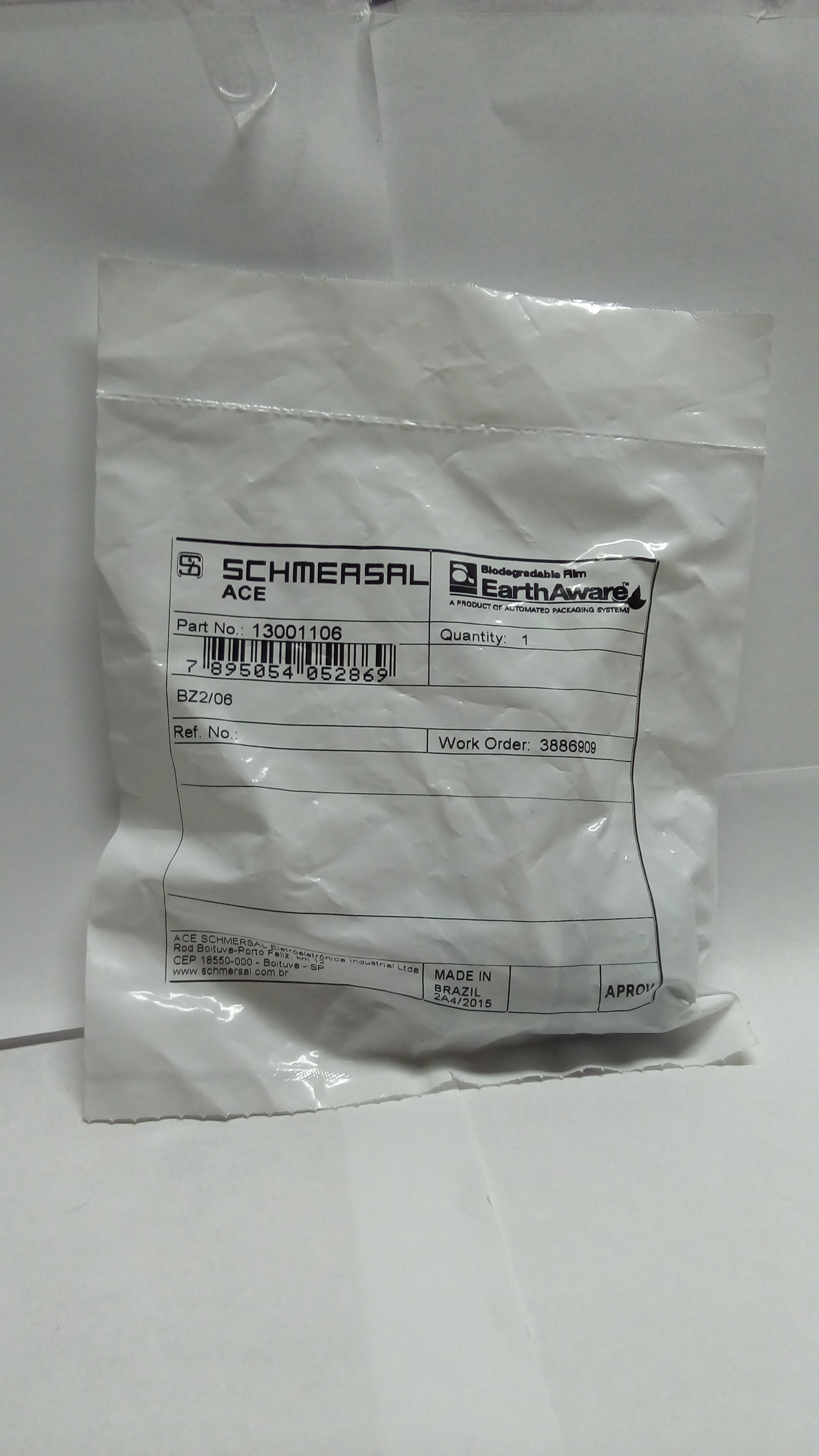 Accesorio SCHEMERSAL-13001106-SCHMERSAL