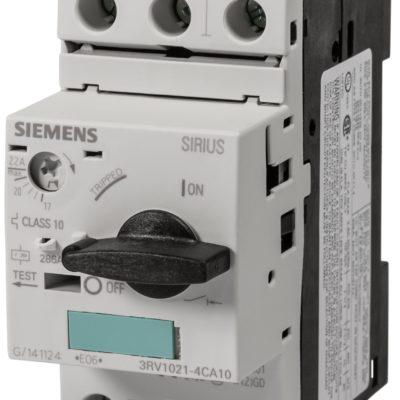 Guardamotor Sirius-3RV1021-4CA10-SIEMENS