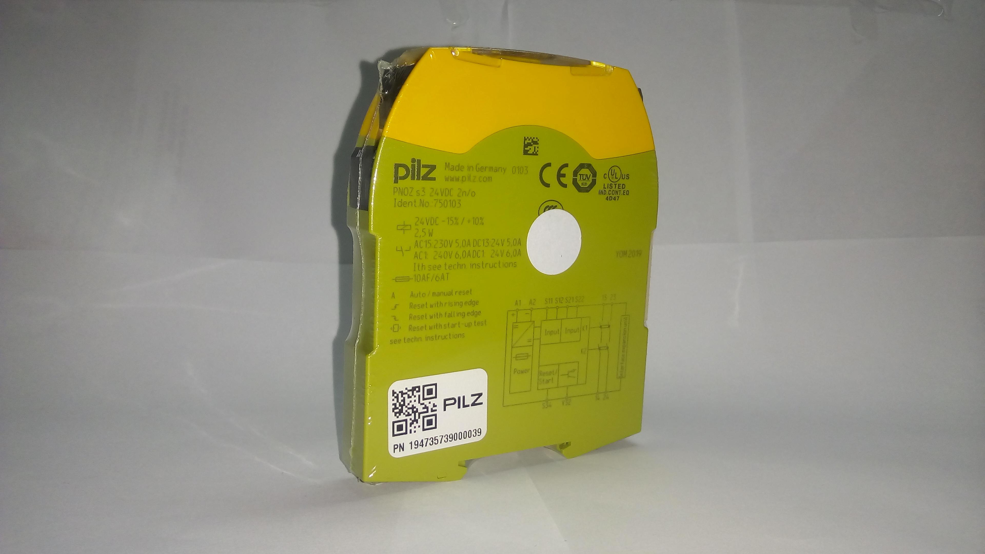 Módulo de Seguridad-750103-PILZ