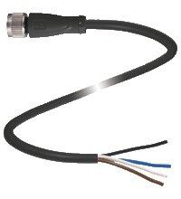 Conectores Pepperl+Fuchs-V1-G-BK2M-PVC-U-PEPPERL+FUCHS